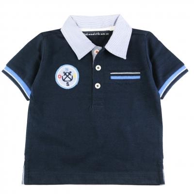 Navy polo