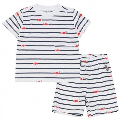 Striped pyjamas set