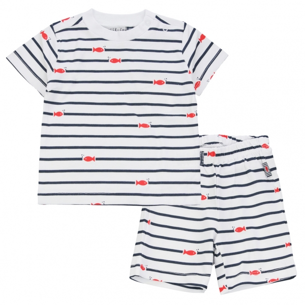 Striped pyjamas set