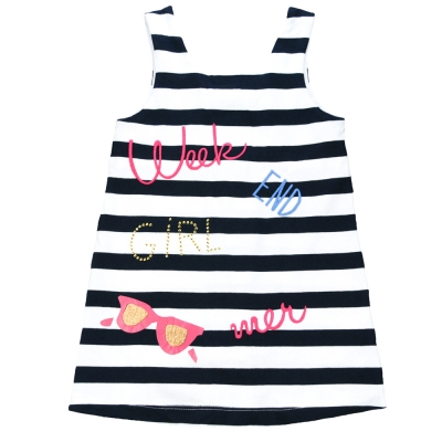 Large stripes dress