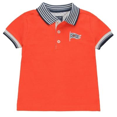 Orange polo-shirt