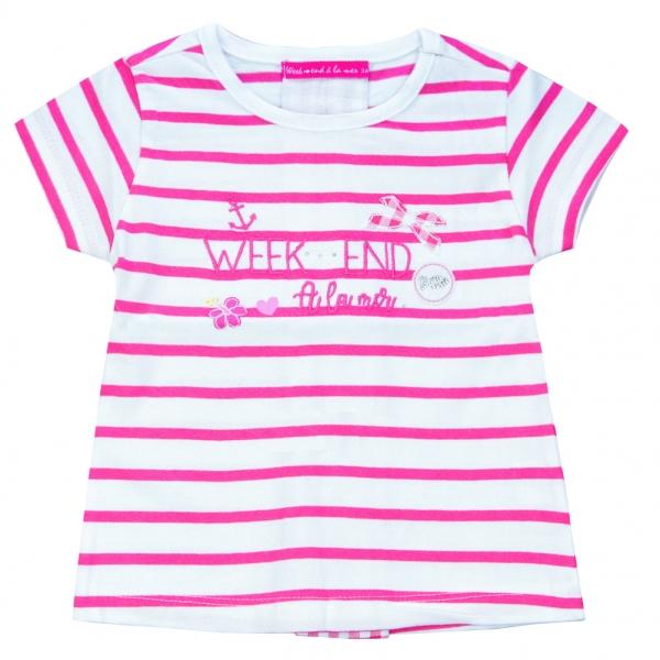 White pink t-shirt