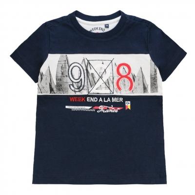 Plain navy t-shirt