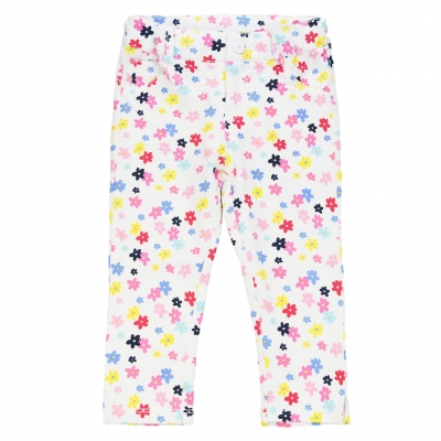 Flower prints jeggings