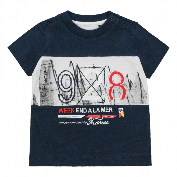 Plain navy t-shirt