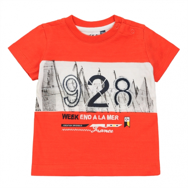 Plain orange t-shirt