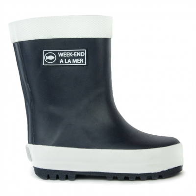 Rubber Boots Navy 20-25