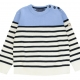 Ecru navy sweater