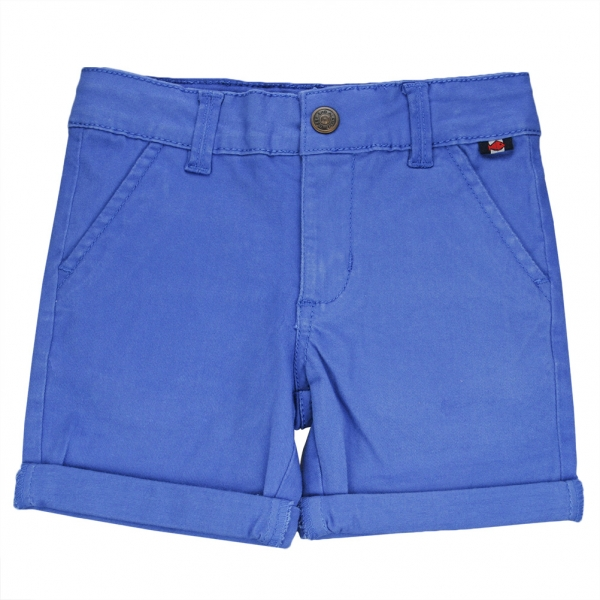 Cloth blue bermudas