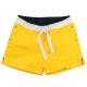 Yellow swim shorts