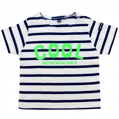 Green neon sailor-shirt