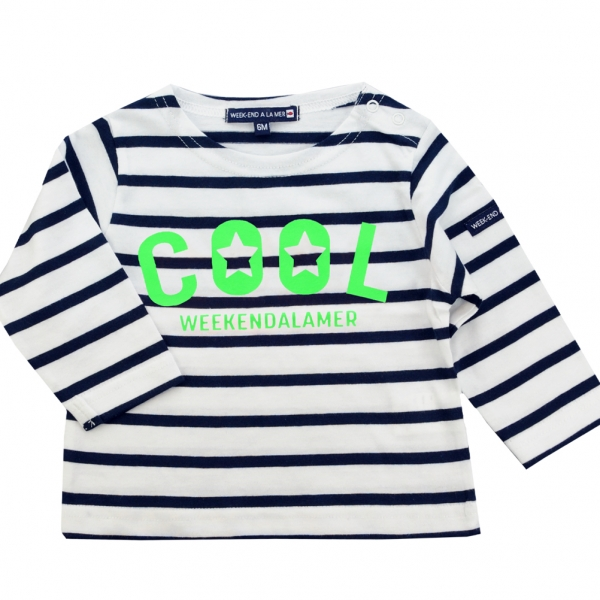 Green neon sailor-shirt