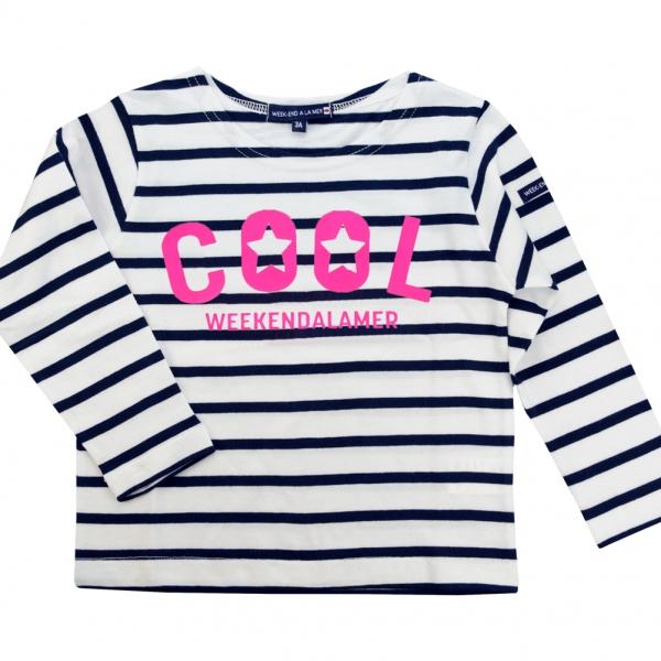 Pink neon sailor-shirt