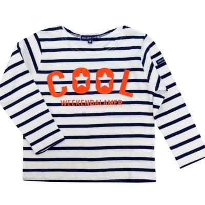 Orange neon sailor-shirt