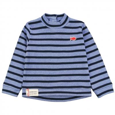 Ecru navy t-shirt