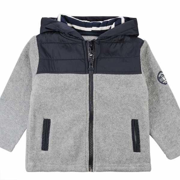 Grey polar jacket