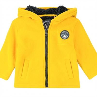 Yellow polar sweater