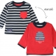 Reversible red t-shirt