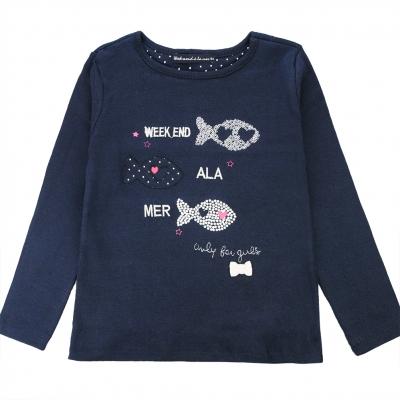 Navy t-shirt