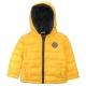 Yellow down jacket