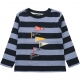 Navy-striped blue t-shirt
