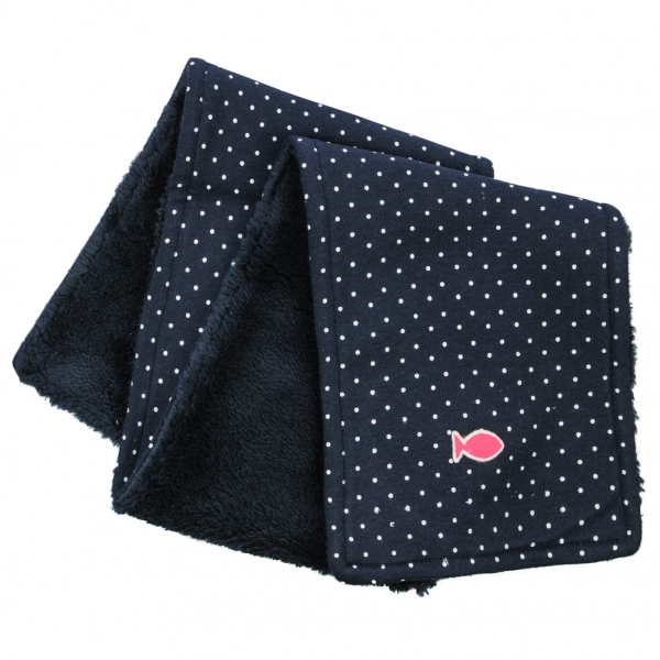 All over dots scarf