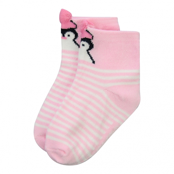 Pink ecru socks