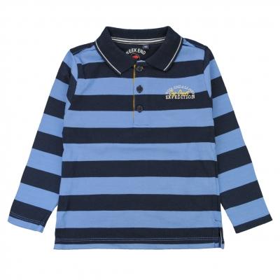 Blue navy polo-shirt