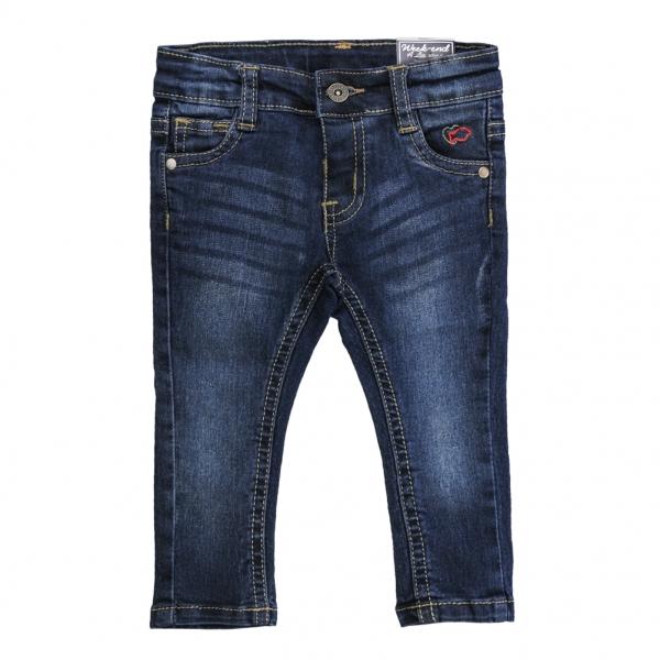 Girl navy jeans