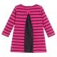 Fushia navy dress