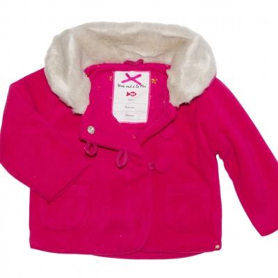Raspberry polar jacket