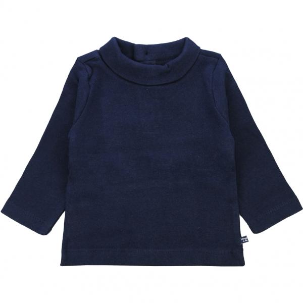 navy polo neck jumper