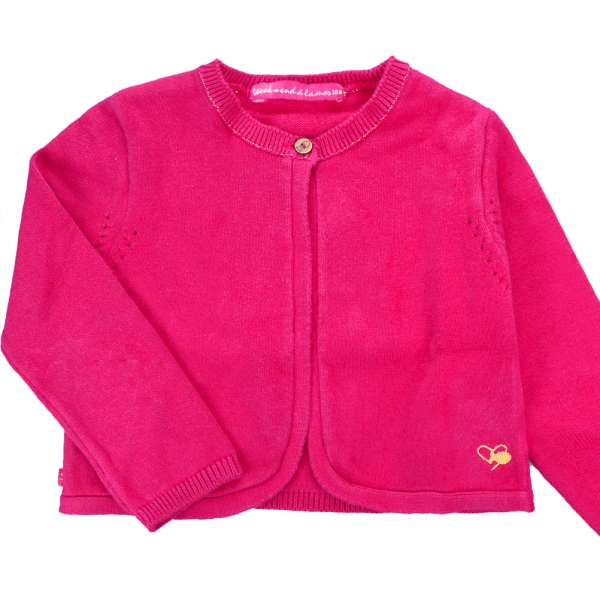 Long sleeves raspberry sweater