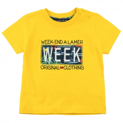 Tee-shirt jaune