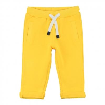 Pantalon molleton jaune