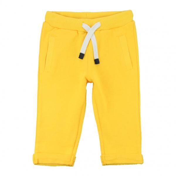 Felt yellow jogging pants