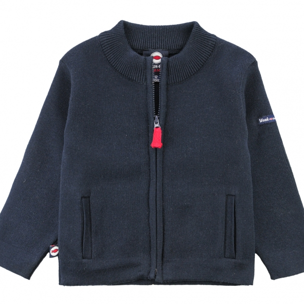 Stitch navy jacket