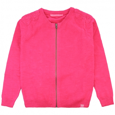 Stitch raspberry jacket