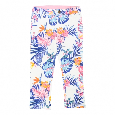 Slim fit printed jeggings