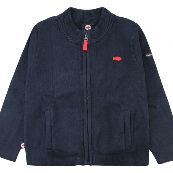 Stitch navy jacket