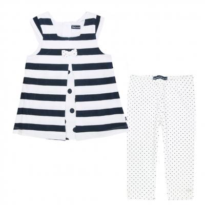 Navy white set