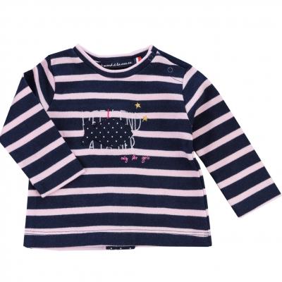 Navy pink t-shirt