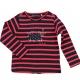 Navy raspberry t-shirt