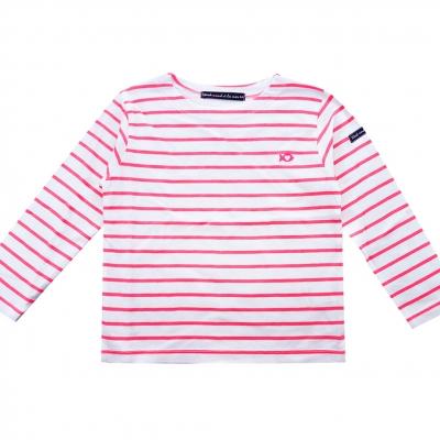 Marinière rayé pink fluo
