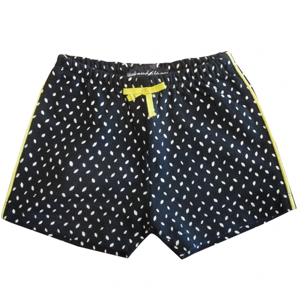 all over dots shorts