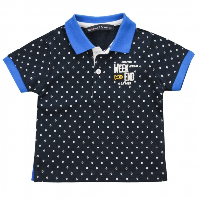 all ocer dots polo-shirt
