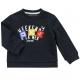 Navy fleece sweater