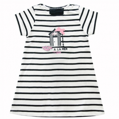 opt white st navy dress