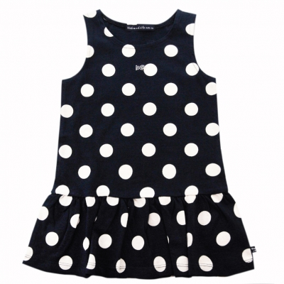all over dots dress