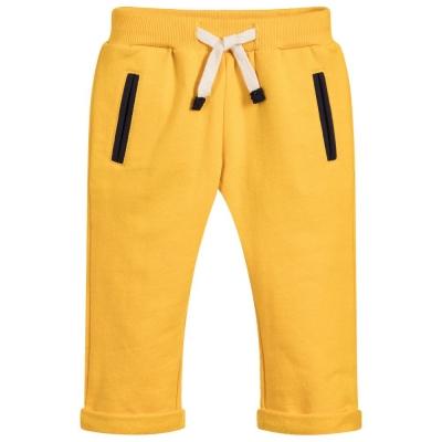 Yellow jogging pants
